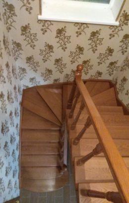 Лестницы на заказ, деревянные лестницы, обшивка металлокаркаса